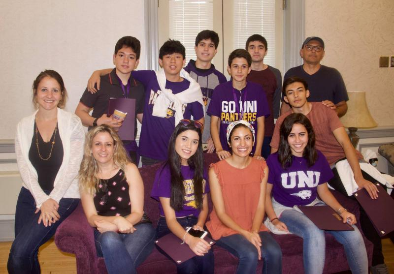 High school students from Brazil