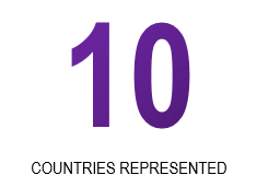 10 Countries Represented