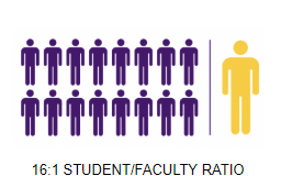 16:1 Student/Faculty Ratio