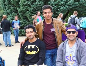 Students at UNI Homecoming Lunch